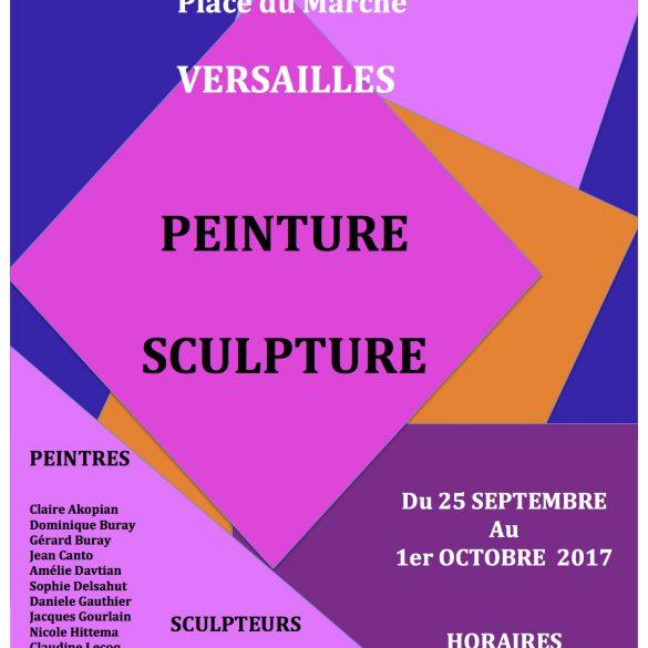 Exposition à Versailles du 25 Septembre au 1er Octobre 2017