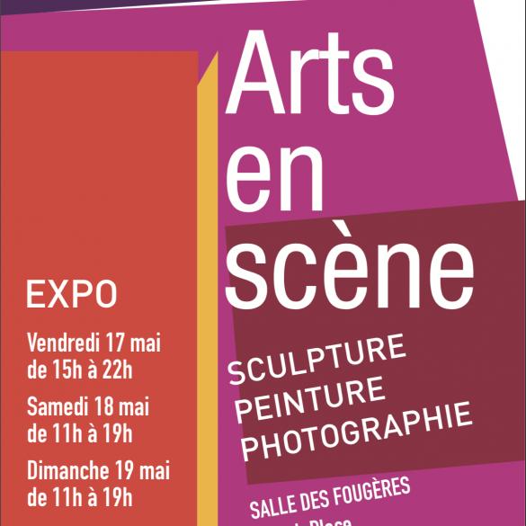 Arts en scène – Du vendredi 17 mai au dimanche 19 à Boulogne-Billancourt